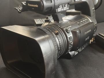 Rent: Panasonic AG-HPX250 P2 HD Camcorder