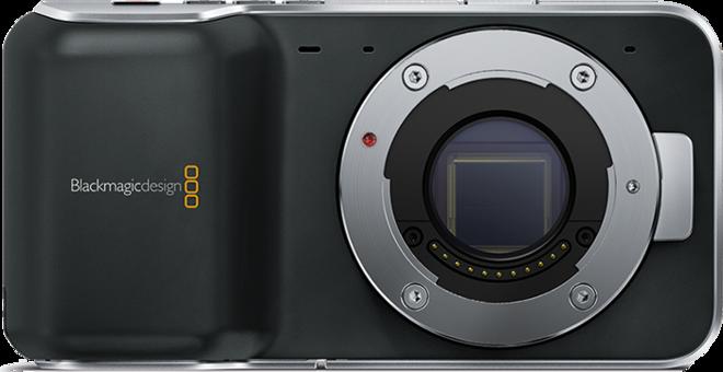 Blackmagic Pocket Cinema Camera w/ Lenses