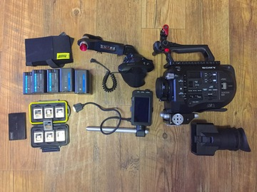 Rent: Sony PXW-FS7 XDCAM Super 35 Camera + Accessories