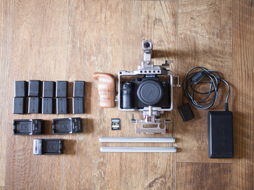 Rent: Sony a7S II with tilta cage & accessories