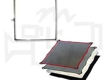 Rent: 6x6 Snap-A-Part Frame w/ Single, Double, Silk, Solid
