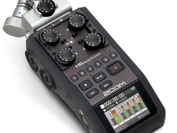Rent: Zoom H6 Handy Recorder with Interchangeable Mic