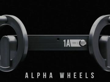 DJI Ronin 2, Alpha (Brass) Wheels, 4x Batts, READY RIG PRO
