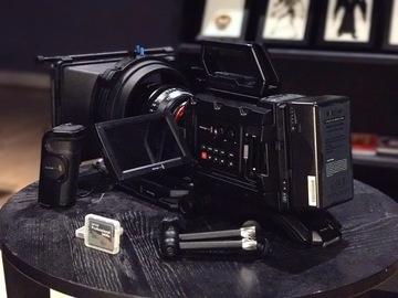 Rent: Blackmagic URSA Mini 4.6K EF   Shoulder   Cards   Shotgun