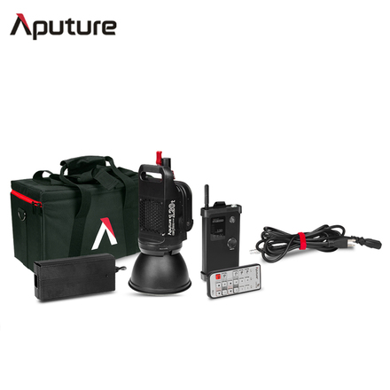 Aputure LS C120t LED with V-Mount Battery (X3 Light Kit)