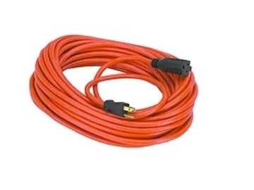 Rent: 25' 12 Guage Extension Cord w/ 3-Way Plug