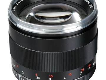 Rent: Zeiss 85mm f/1.4 ZE Planar T* Manual Focus Lens for Canon