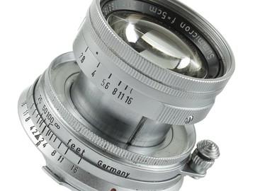 Leica Normal 50mm f/2.0 Summicron M Manual Focus Lens