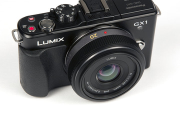 Panasonic Lumix DMC-GX1 MFT with 20mm f/1.7 lens