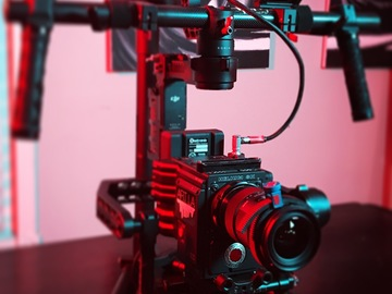 DJi Ronin with DJI Focus  follow focus
