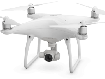 Rent: DJI Phantom 4 Quadcopter Package (4k)