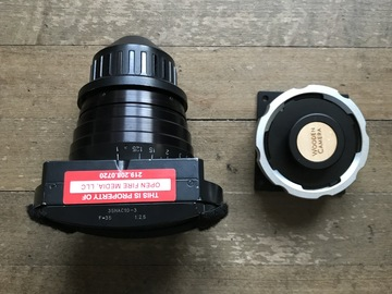 LOMO Anamorphic Squarefront 35mm w/ RED PL Mount