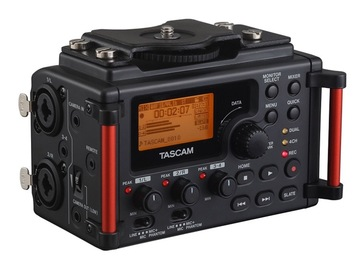 Rent: Tascam DR-60DmkII 4-Channel Portable Recorder