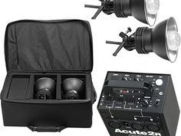 Rent: Profoto 1200R Kit - 1 x 1200 w/s Pack and 2 x D4 Heads
