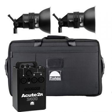 Profoto 2400R Kit - 1 x 2400 w/s Pack and 2 x D4 Heads