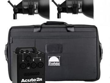 Rent: Profoto 2400R Kit - 1 x 2400 w/s Pack and 2 x D4 Heads