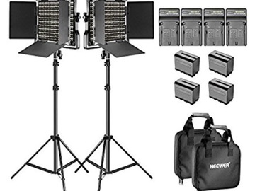 Rent: LED 660 Bi-color litepanels (X2)