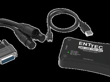 Rent: Enttec DMX USB Pro2 1024-Ch USB DMX + 2x 25' DMX Cables