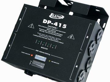 Rent: American DJ Dp-415 4 Channel Dmx Dimmer Pack