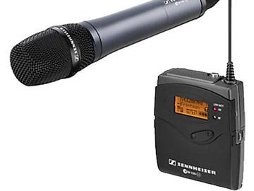 Rent: Sennheiser EW 135-p G3 Handheld Wireless Microphone System (