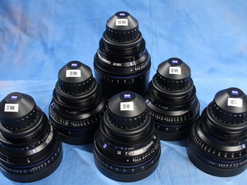 Zeiss CP.2  (21, 28, 35, 50, 85,100) 6-Lens PL mount set