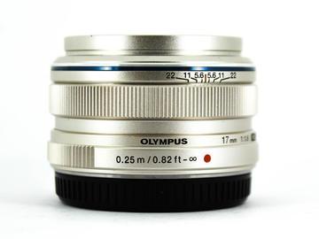Rent: Olympus M.Zuiko 17mm f/1.8