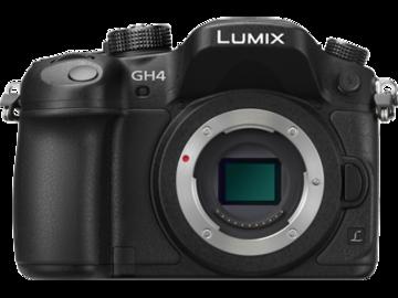 Rent: 4K | Panasonic Lumix DMC-GH4 Digital Camera w/V-Log