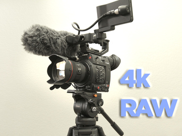 Rent: Canon EOS C200 Cinema Camera- FULL PACKAGE