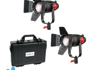 Rent: Boltzen 30w Frenel 2 light kit