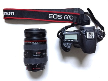 Rent: Canon DSLR Kit (Canon 24-70mm f2.8, EOS 60D, Plus Extras)