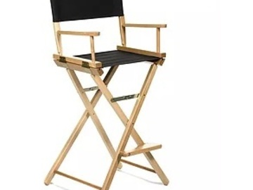 Rent: Tall Director's Chairs