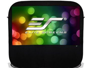 """Rent: Elite 84"""" Portable Indoor/Outdoor Projection Screen"""