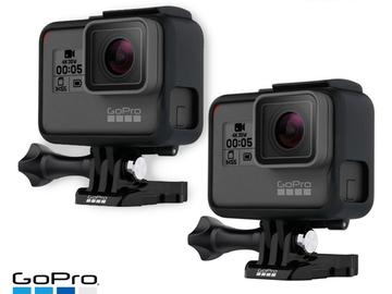 Rent: 2x GoPro Hero6 Black 4K