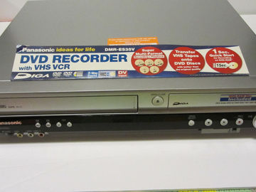 Rent: Panasonic DMR-ES35V VHS / DVD Recorder Deck With Firewire