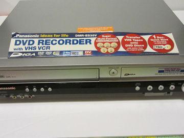 Rent: Panasonic DMR-ES35V VHS / DVD Recorder Deck With Firewire