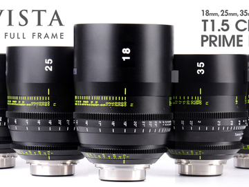 Rent: Tokina Vista Cinema Prime 6 lens set