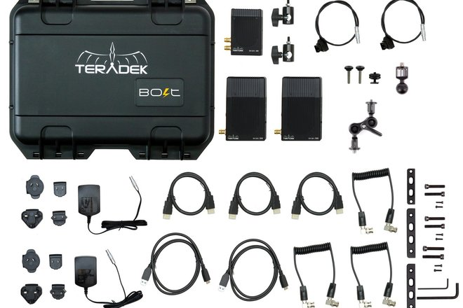 Teradek Bolt 500 SDI/HDMI Video Transceiver Set 2 receivers