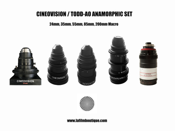 Rent: Todd AO Cineovision High Speed Anamorphic Primes