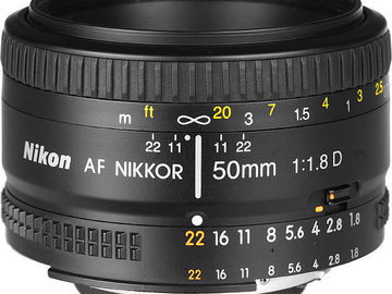 Rent: Nikon Nikkor 50mm f/1.8