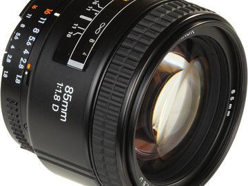 Rent: Nikon Nikkor 85mm f/1.8D