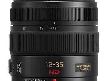 Rent: Panasonic 12-35mm F/2.8