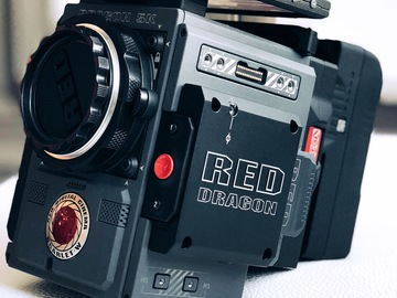 Rent: RED Scarlet-W Dragon 5K PACKAGE