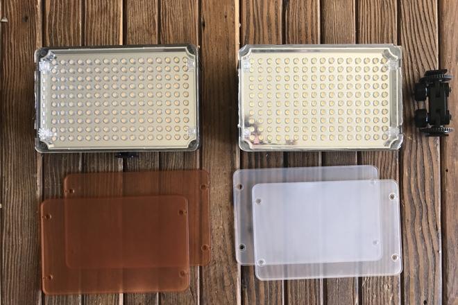 Small On-Camera LED Light