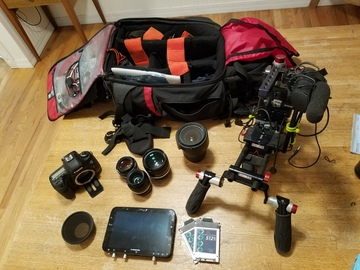 Rent: Canon 5D Mark III Indie Kit with Shape Rig| miller tripod