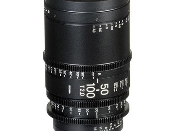 Rent: Sigma 50-100mm T2 PL Mount