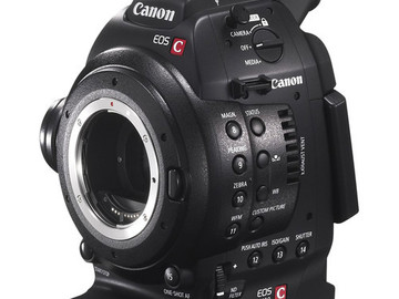 Canon EOS C100 Cinema Camera with Dial Pixel CMOS AF