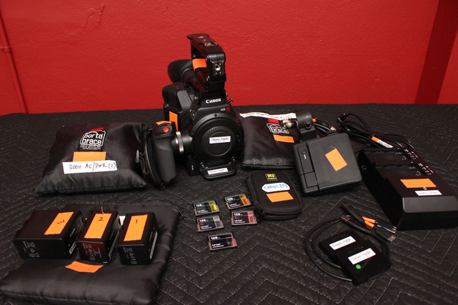 C300 MKII Camera with (5)Media Cards and (3) Batteries