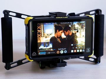 Director's Monitor (Atomos Shogun Flame) Gold Mount/Sony NP-