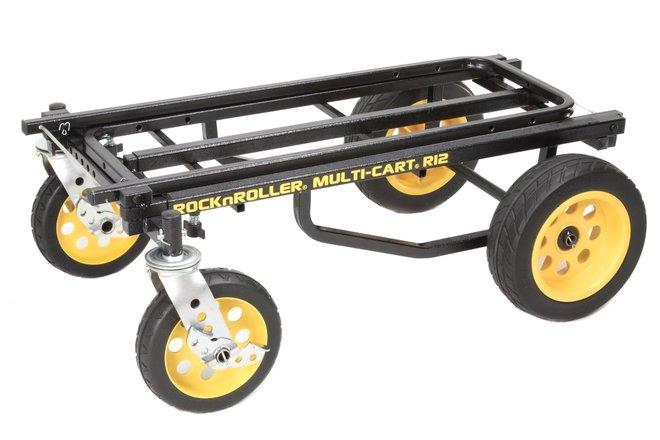 Equipment Cart Rock'n'Roller R12RT + Top Shelf