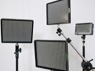 4-point LED Lighting Kit (Aputure Amaran)